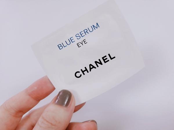 シャネルブルーセラムアイCHANELBLUESERUMEYEのサンプル包
