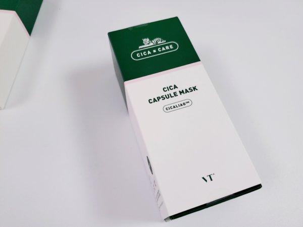 VT シカカプセルマスク パッケージ表